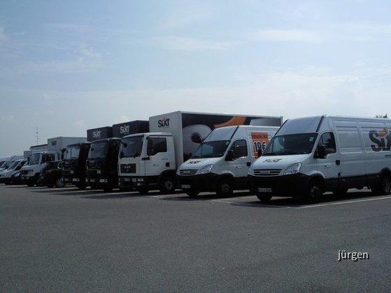 Sixt Transporter und LKW