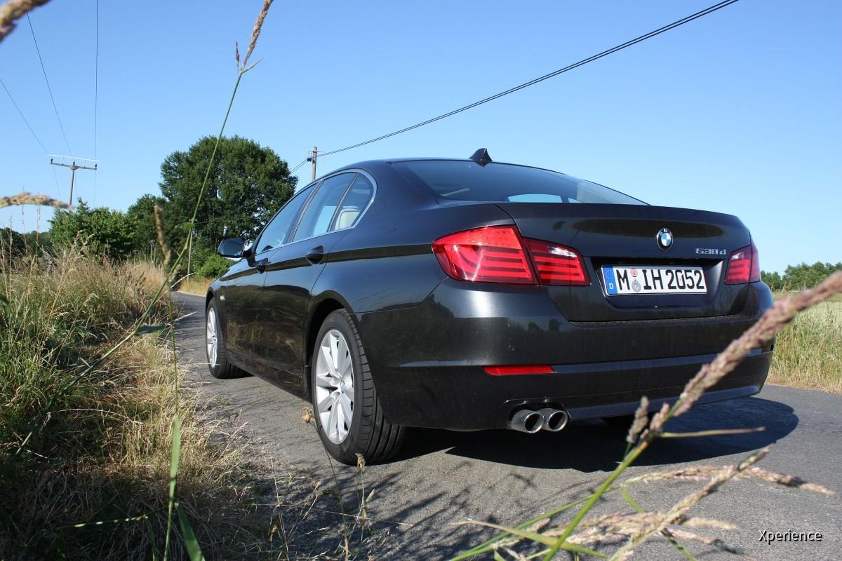 BMW 530d F10   Sixt Flughafen Dresden