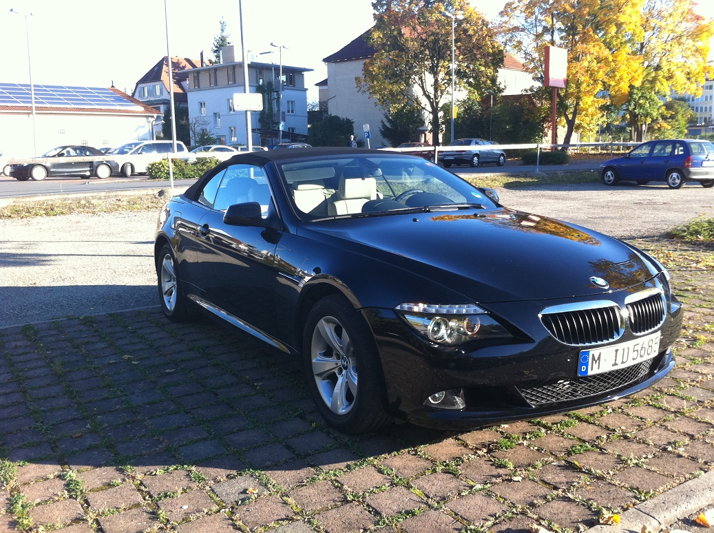 BMW 635d Cabrio Sixt Ansbach