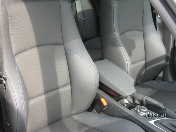 BMW 120dA Sixt LEJ - Teilledersitze