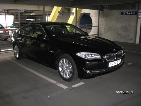 SIXT LEJ 11.06. - BMW 525d Automatik
