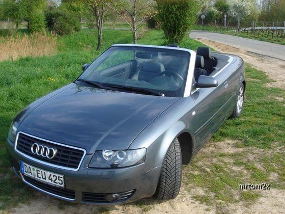Audi A4 2.5TDI Cabrio von Euromobil