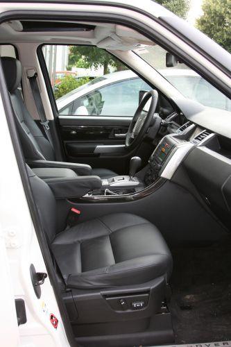 Range Rover Sport TDV8 Hertz Innenraum
