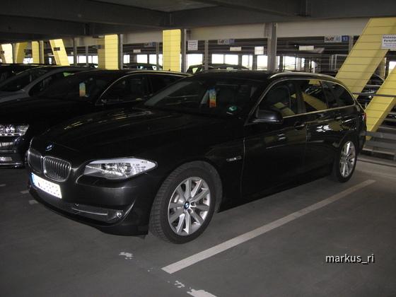 SIXT LEJ 11.06. - BMW 525d Touring Automatik
