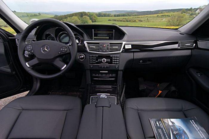 Mercedes E350 CDI von innen