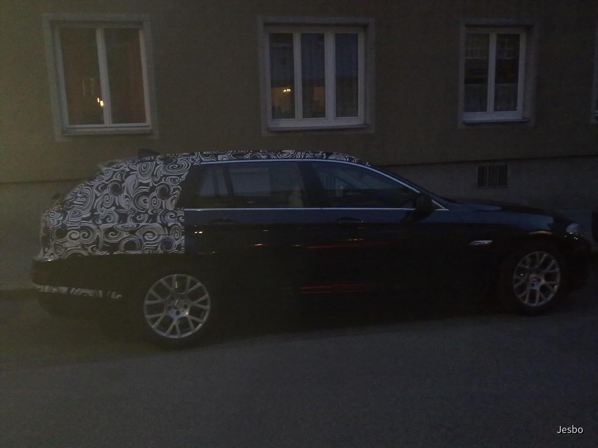 BMW 5er Touring F11 Erlkönig