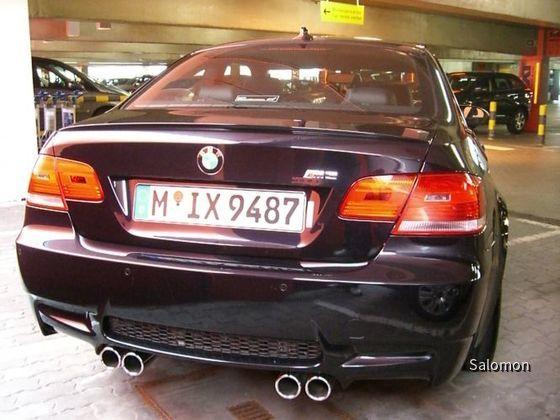 BMW M3 Sixt