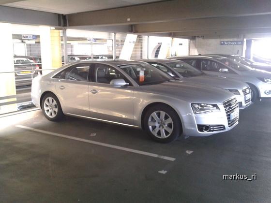 Audi A8 quattro @ SIXT LEJ 05.11.