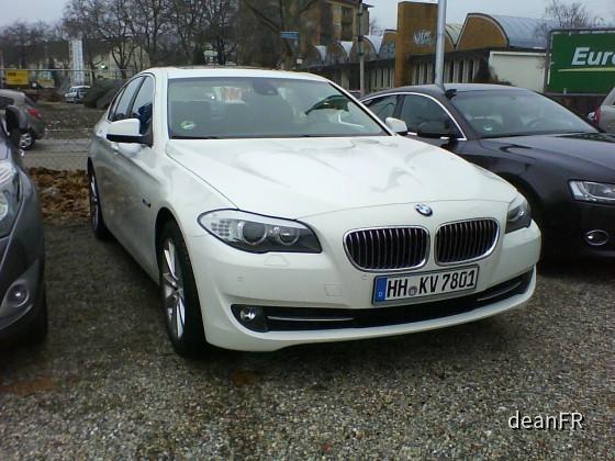 BMW 528i Europcar