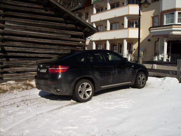 Urlaubsbilder mit unserem Fuhrpark BMW 740d und X6