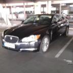 Jaguar XF S @ Hertz LEJ 26.01.12