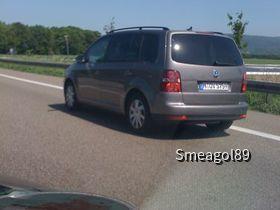 VW Touran Sixt auf der A5
