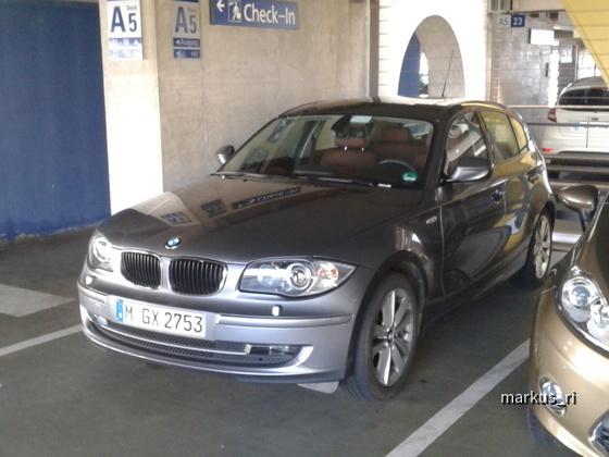 BMW 123d @ SIXT LEJ 05.11.