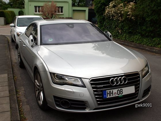 Audi A7 von Europcar