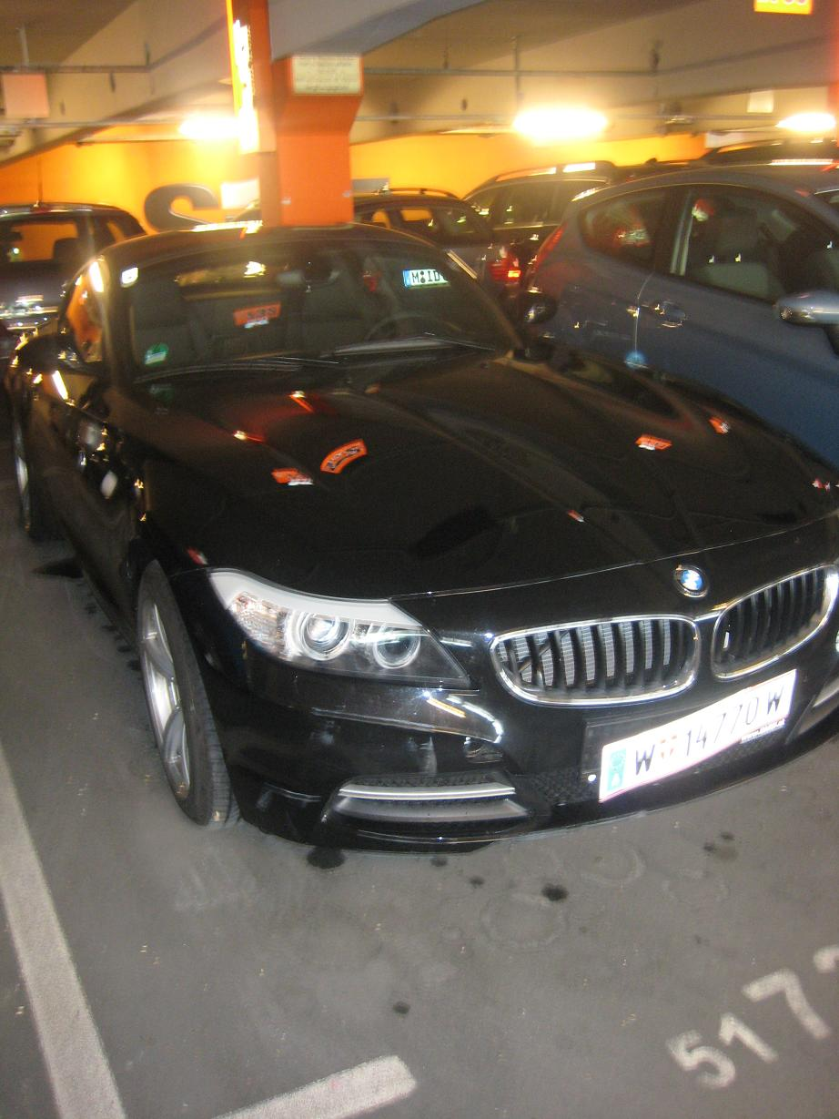 BMW Z4 Sixt aus Austria am MUC