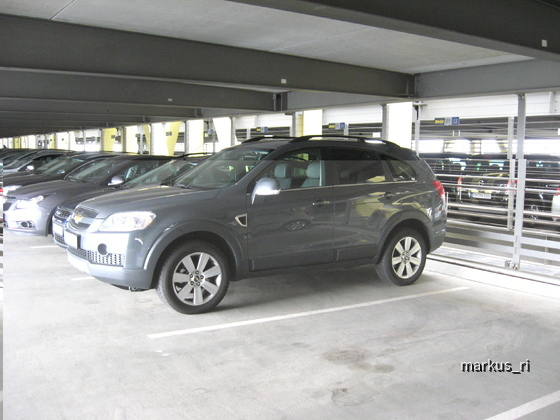 Hertz LEJ 11.06. - Chevrolet Captiva LT, Automatik
