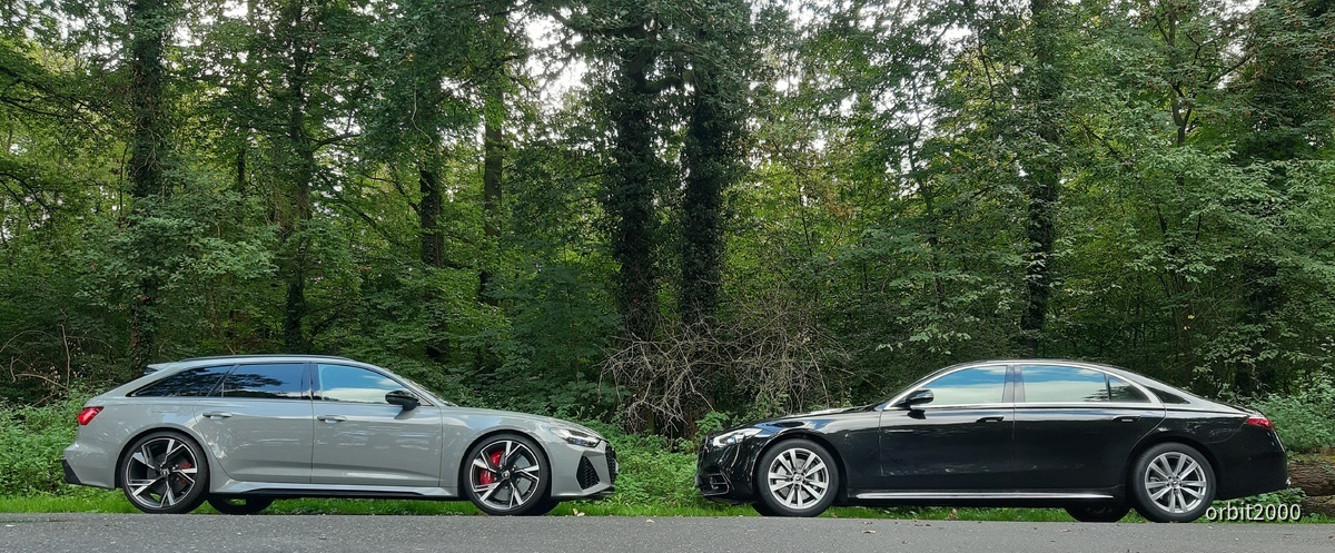 RS6 vs. S Klasse