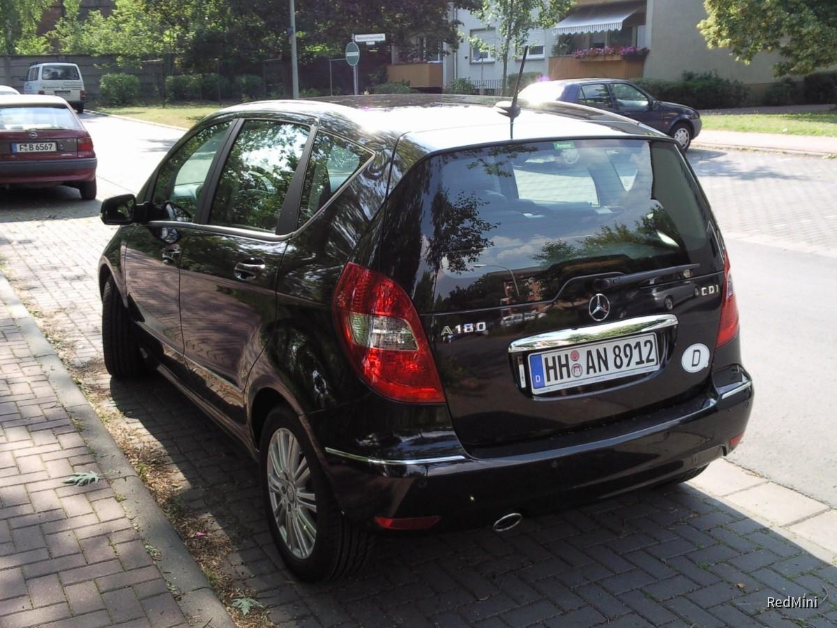 A180 CDI, Europcar