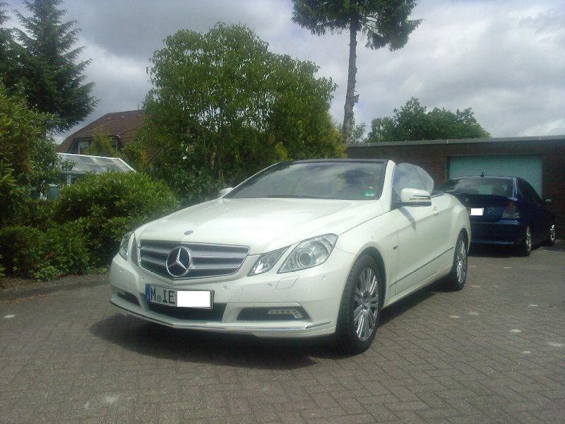 Mercedes E 200 CGI Cabrio