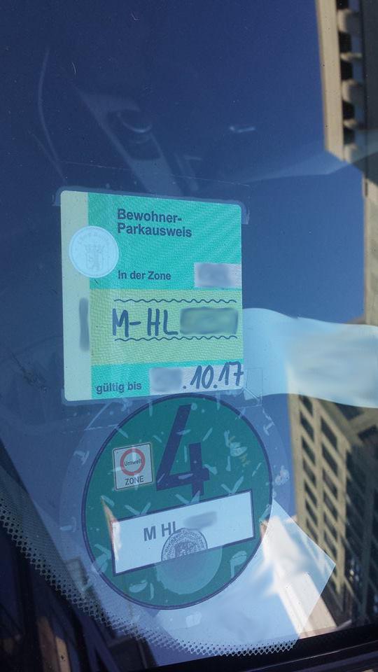 Anwohnerparkausweis