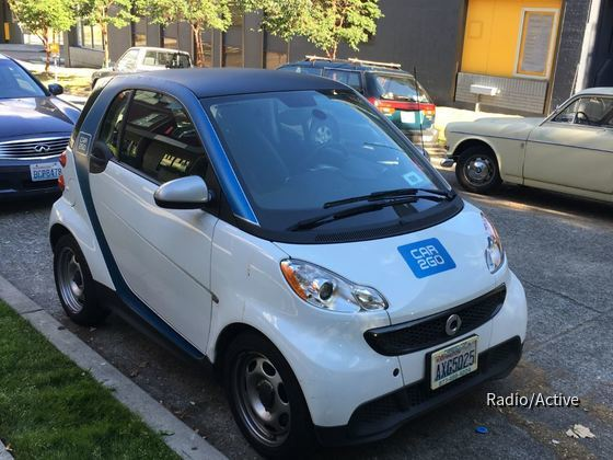 Smart fortwo   Car2Go Seattle