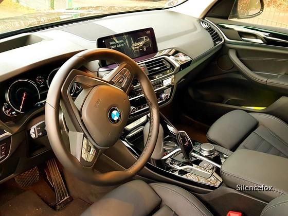 BMW X30d Interieur