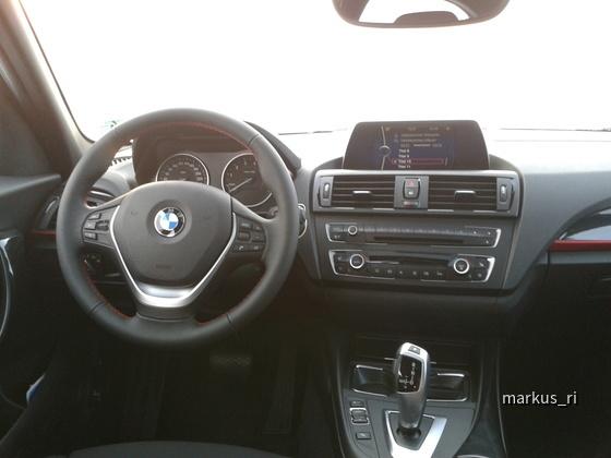 BMW F20 Armaturenbrett