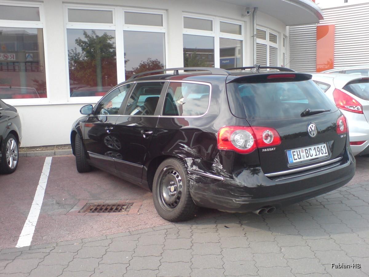 Mietwagenschrott Passat Sixt Bremen Habenhausen