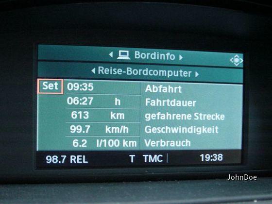 BMW 320i Limousine Verbrauch