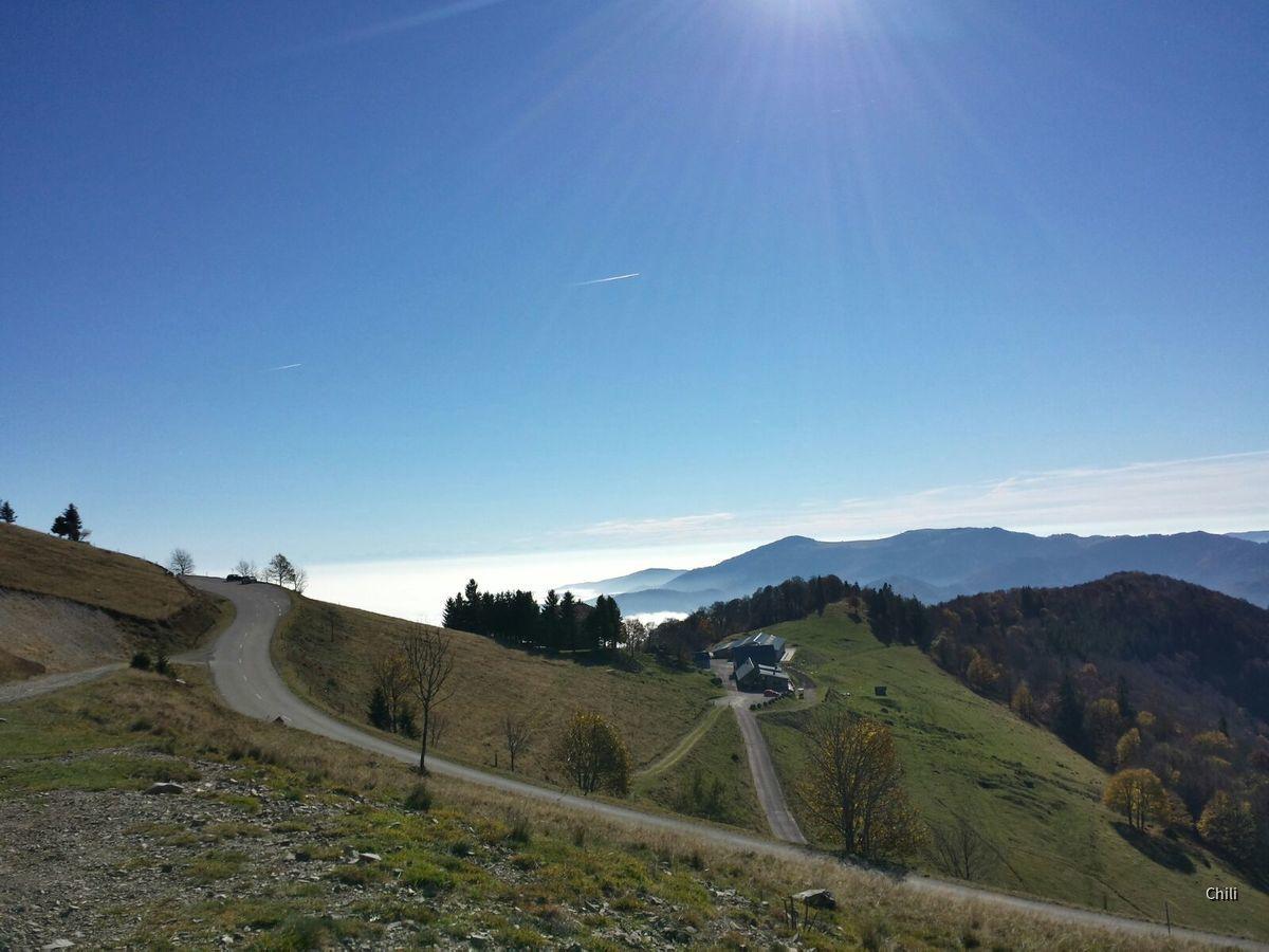 Panorama in den Vogesen
