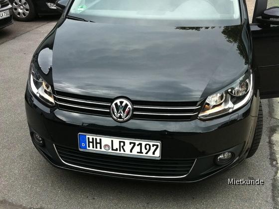 VW Touran 1.4 TSI Europcar Juli 2011