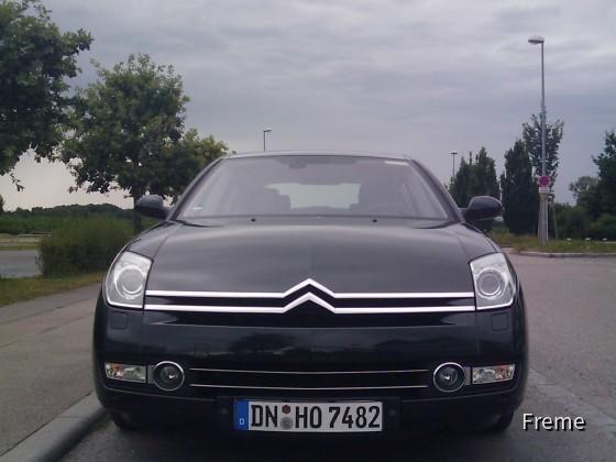 Citroën C6 2.7   Hertz Stuttgart Flughafen