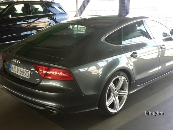 Mannheim Hbf - Audi A7 S-line