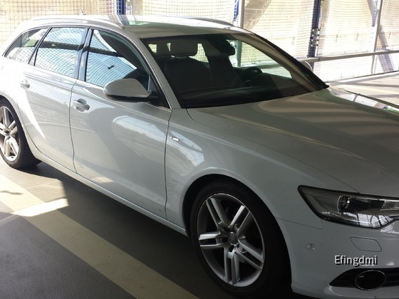 Mannheim Hbf - Audi A6 Avant S-line