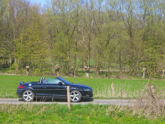 Audi TT Roadster von Sixt