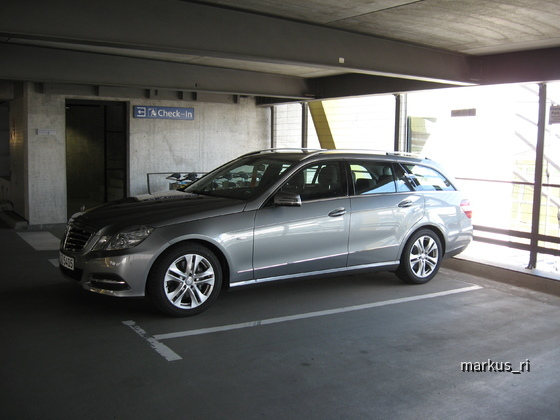 Sixt LEJ 14.07.: Mercedes E250 CDI T-Modell