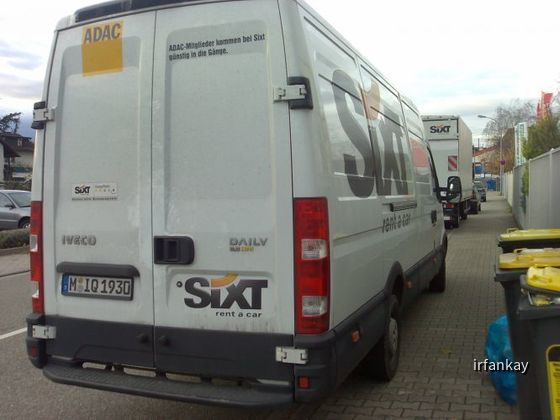 Iveco Daily Transporter, 3,5t , Sixt