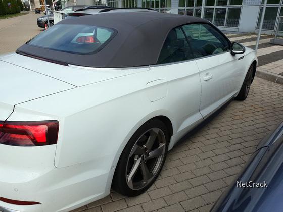 Audi S5 bei Audi On Demand Abgabe