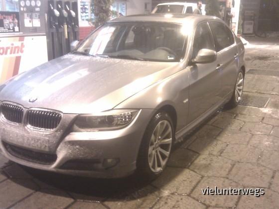 BMW 325d von Sixt