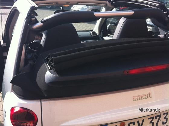 Smart Cabrio Sixt Mannheim Neckarau 08.05.-11.05.2012