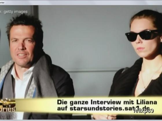 Die Interview mit Loddar's Liliana?