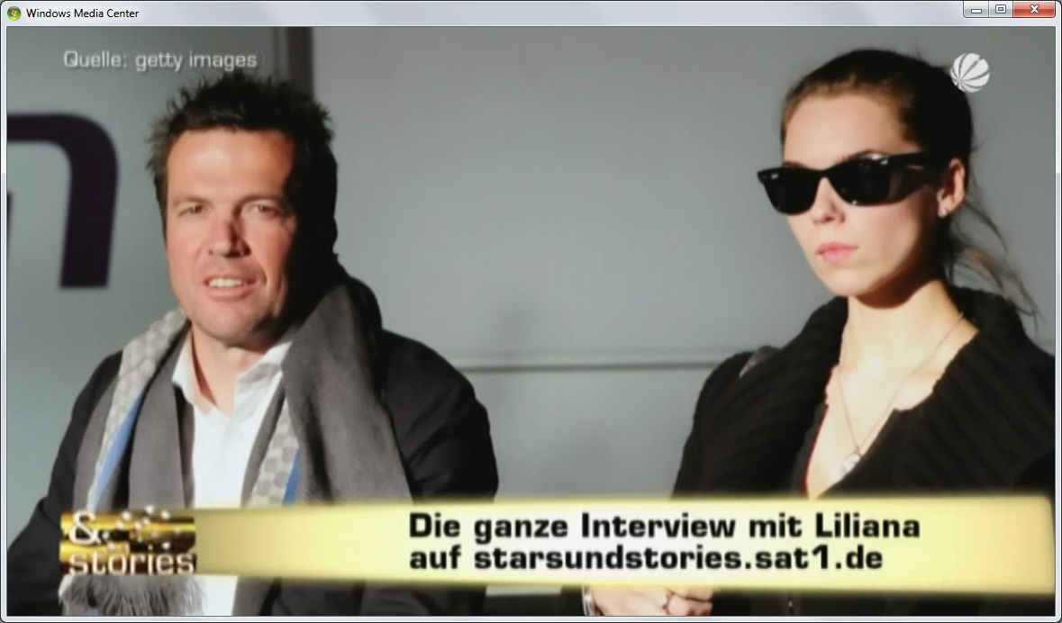 Die Interview mit Loddar's Liliana?