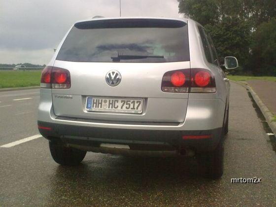 VW Touareg V6 3.0 TDI Europcar