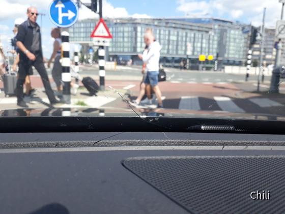 Steinschlag VW Passat