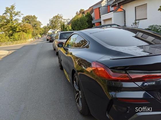 BMW 840d back
