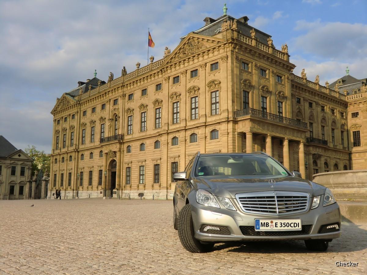MB E 350 CDI Europcar