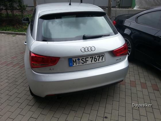 Audi A1 (TFSI - genaue Motorisierung unbekannt)