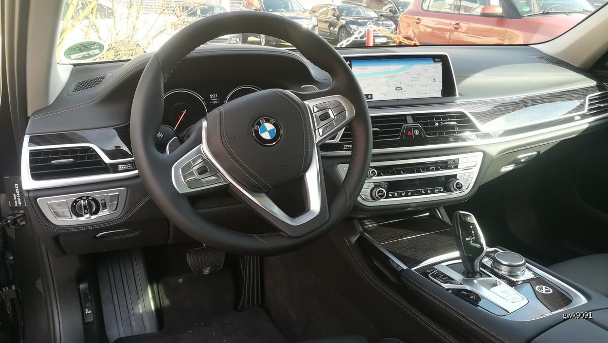 BMW 750d xDrive von Sixt