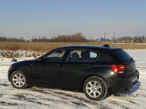 BMW 118iA F20 Sport