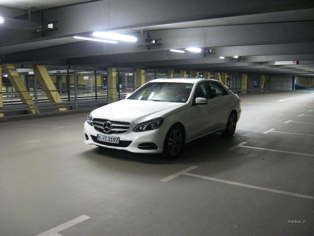 Mercedes E220 CDI, Sixt